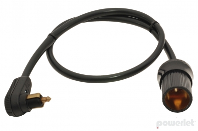 PAC-012 Powerlet Plug To Cigarette Socket Cable (24
