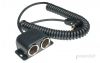PAC-031 Powerlet Plug To Dual Cigarette Socket Coil Cable