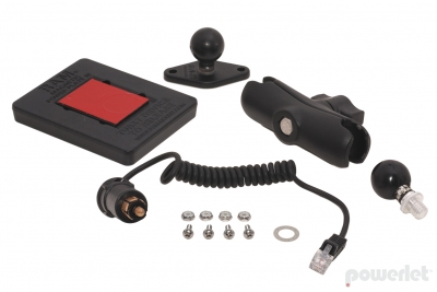 PBK-004 Radar Detector PowerMount with Ram Mount