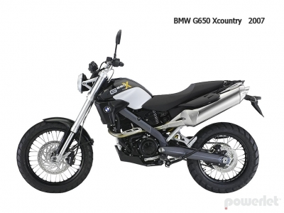 BMW G650 Xcountry 2007 G-650 G-650-X Country 2008 2009