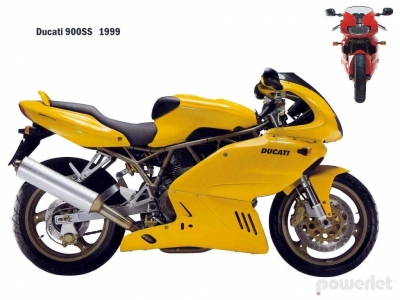 Ducati SuperSport 900SS 1990 - 2002