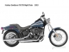 Harley Davidson FXSTB 1450 Softail Night Train 2000 - 2006