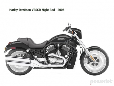 Harley Davidson Night Rod VRSCD 2006 - 2008