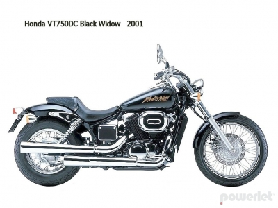Honda Shadow Spirit VT750DC 2001 - 2007