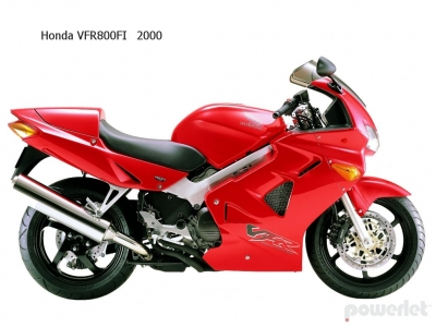 Honda VFR800F Interceptor 1998 1999 200 2001