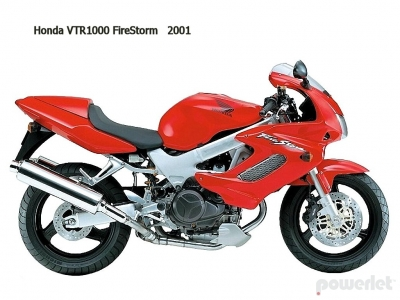 Honda VTR1000F Firestorm / Super Hawk 1997 - 2006