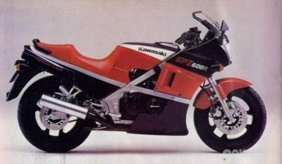 Kawasaki GPZ 600 R 1990 - 1992 - Powerlet Products