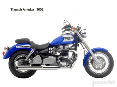 Triumph America 2003 - 2007 - Powerlet Products