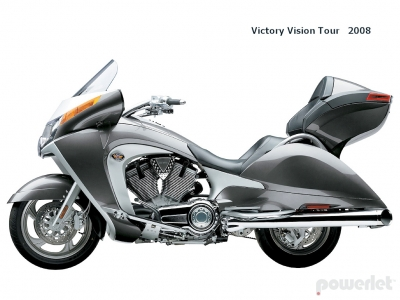 Victory Vision Tour 2008 Vision 2009 Polaris Motorcycle