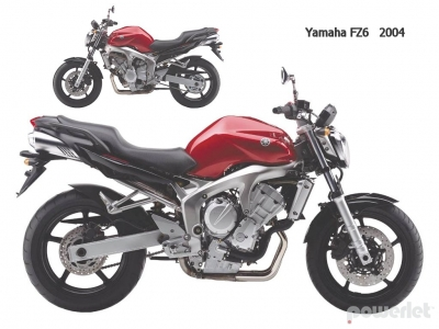 yamaha fz6n naked 2004 2006 powerlet products. Black Bedroom Furniture Sets. Home Design Ideas